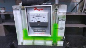 Taratura strumento manometro analogico